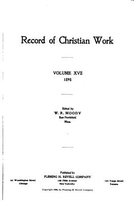 Record of Christian Work PDF