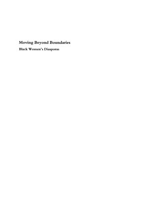 Moving Beyond Boundaries (Vol. 2)