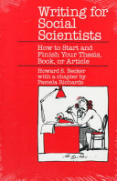 Writing for Social Scientists PDF