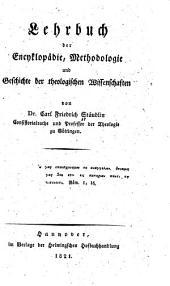 Lehrbuch der Encyclopädie, Methodologie und Geschichte der theologischen Wissenschaften