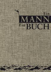 Ein Mann. Ein Buch