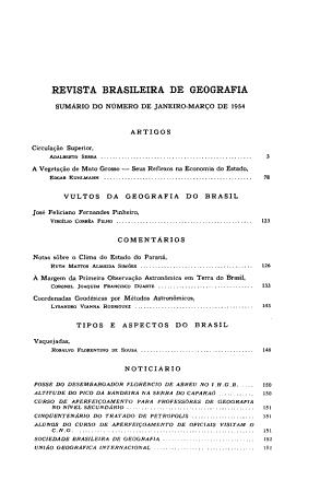 Revista brasileira de geografia PDF