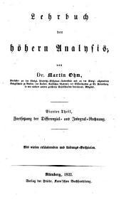 Versuch eines vollkommen consequenten systems der mathematik: Band 6