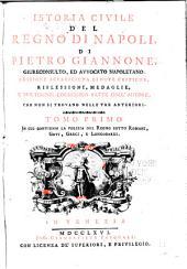 Istoria civile del regno di Napoli: Volumi 1-2