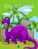 Dinosaur Lands Search And Book Coloring