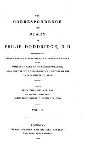 Correspondence and Diary: Volume 3