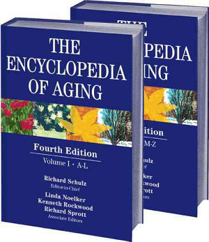 The Encyclopedia of Aging PDF