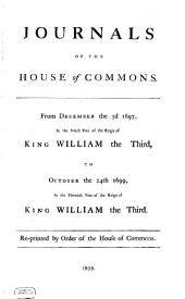Journals of the House of Commons: Volume 12