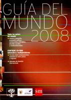 Guia Del Mundo 2008  Guide to the World 2008 PDF
