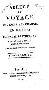 Abrégé du voyage du jeune Anacharsis en Grèce: Volume1