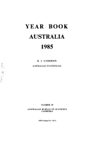 Year Book Australia  1985 PDF