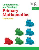 Understanding and Teaching Primary Mathematics PDF