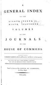 Journals of the House of Commons ...: Volumes 8-11