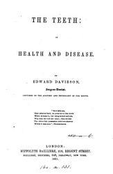 The teeth  in health and disease PDF