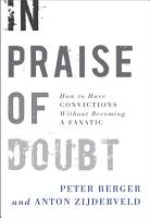 In Praise of Doubt PDF