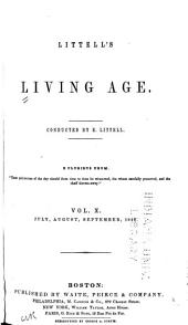 Littell's Living Age: Volume 10
