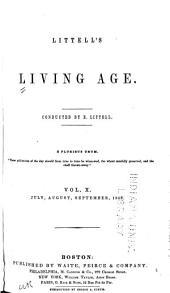Littell's Living Age: Volume 10