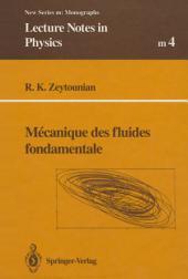 Mecanique des fluides fondamentale