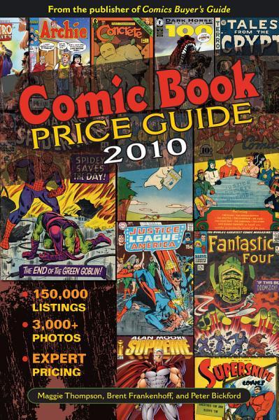 Comic Book Price Guide PDF