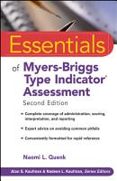Essentials of Myers Briggs Type Indicator Assessment PDF