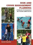 Risk and Crisis Management Planning PDF