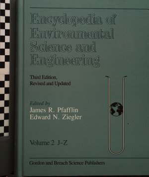 Encyclopedia of Environmental Science and Engineering PDF