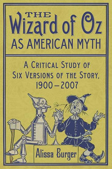 The Wizard of Oz as American Myth PDF