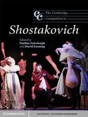 The Cambridge Companion to Shostakovich PDF
