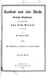 Tausend und eine Nacht: arabische Erzählungen. 3