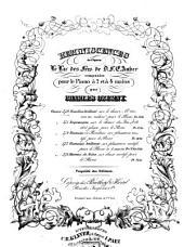 """Rondino brillant sur le choeur: """"A travers ces rochers"""": pour le piano ; oeuvre 570"""