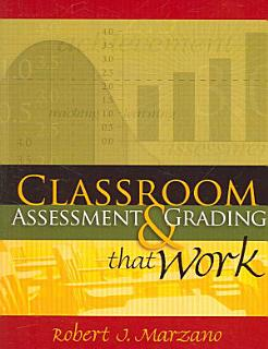 Classroom Assessment   Grading that Work Book