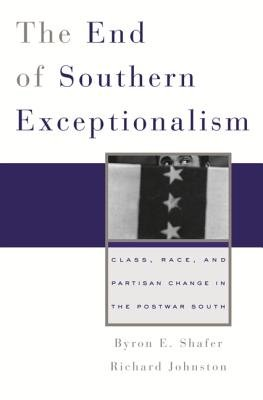 The End of Southern Exceptionalism PDF