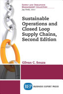 Sustainable Operations and Closed Loop Supply Chains  Second Edition PDF
