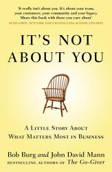 It S Not About You Book PDF