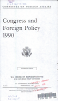 Congress and Foreign Policy  1990 PDF