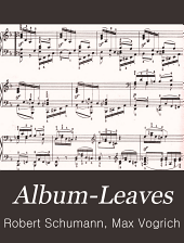 Album-Leaves: op. 124