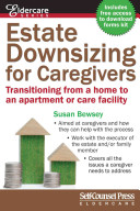 Estate Downsizing For Caregivers Book PDF