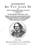 Shakespeare s As You Like it PDF