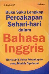 Buku Saku Lengkap Percakapan Sehari-hari Dalam Bahasa Inggris
