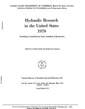 Hydraulic Research in the United States PDF