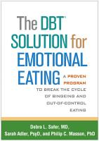 The DBT  Solution for Emotional Eating PDF