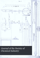Journal of the Society of Chemical Industry: Volume 22