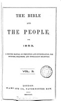 The Bible and the people PDF