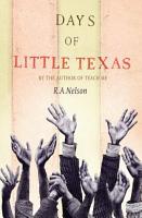 Days of Little Texas PDF
