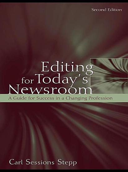 Editing for Today s Newsroom PDF