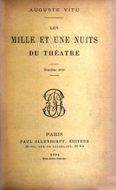 Les mille et une nuits du théâtre: Volume9
