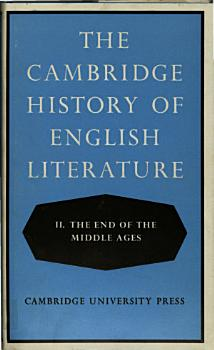 Cambridge History of English Literature 2 PDF