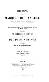 Journal du marquis de Dangeau: 1692-1694