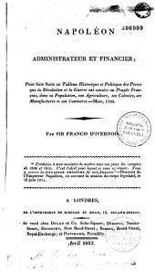 Napoléon administrateur et financier