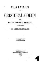 Vida i viajes de Cristóbal Colón: Volúmenes 3-4